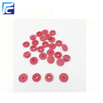 Custom Colorful POM Environmental Protection Plastic Snap Fasteners For clothing