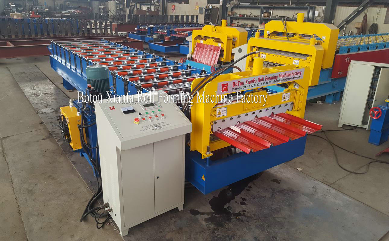 roofing tile machine