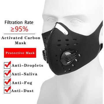 Breathable Fabric Teams Sports Bicycle Dust Masks