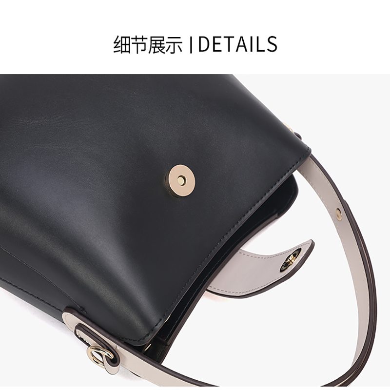 Leather Shoulder Bag 04