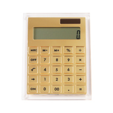 Gold Mirror Acrylic Calculator