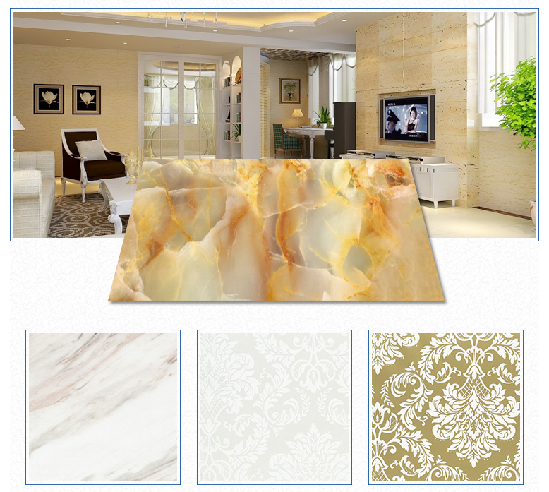 UV Coating Marble Panel Plastic PVC Sheet