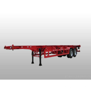 20ft Container Skeleton Type Semi Trailer Truck