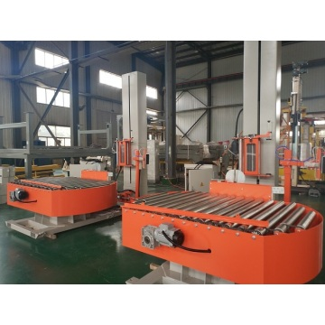 Automated turntable packaging machine