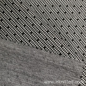 Hound Tooth Check Jacquard Fabric