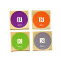Ntag215 Sticker RFID Tag with Strong Glue barcode
