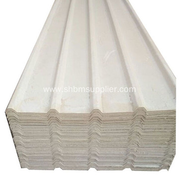 No-Asbestos High Strength Light-weight MgO Glazed Roof Sheet