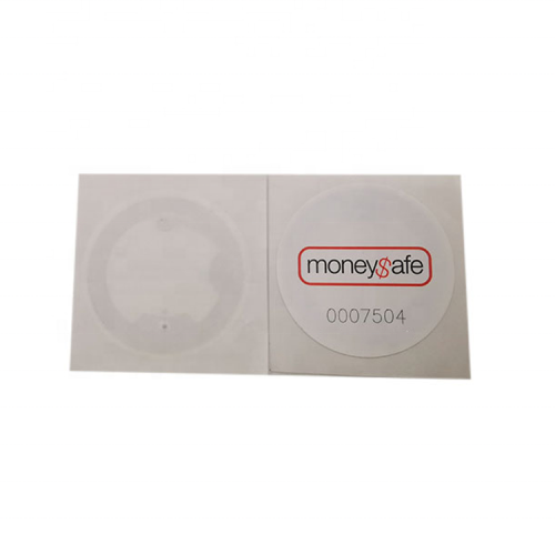 Printed HF RFID NFC Tag PET Label Sticker