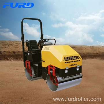 Electric Start Diesel Small Steel Drum Vibration Roller With 30KN Vibration Capacity
