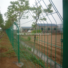 Green Color Welded Wire Mesh Fence