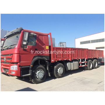 Camion cargo 12 roues Howo 8x4