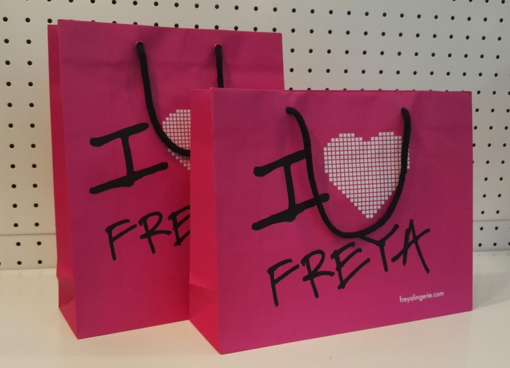 Little Pink Paper Bags