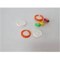 0.22um 25mm PTFE membrane wheel syringe filter