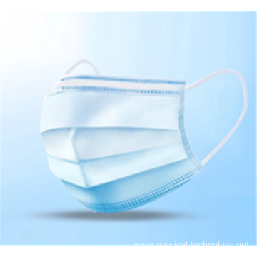 In Stock Non-Woven Disposable Face Masks