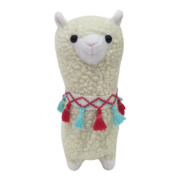 Cute plush llama theme dolls toy