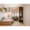 Customized Kid ng Bedroom Pink at Light Green