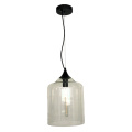 Italian villa glass stairs pendant hanging light