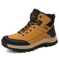 Large size men's hiking shoes winter warm