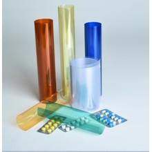 Colored rigid PVC sheet rolls