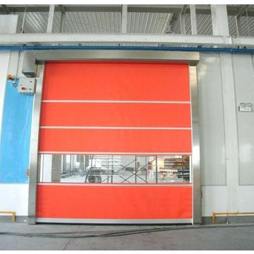 Automatic Anti-static PVC Fabric high speed shutter door
