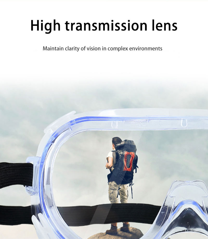 High light transmission multifunctional goggles-4