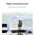 High light transmission multifunctional goggles