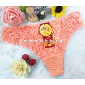 AS-5857 OEM wholesale China sexy t-back panties young girls g-string women thongs