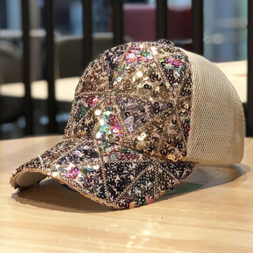 Summer Baseball Special Embroidery Mesh Cap Hats
