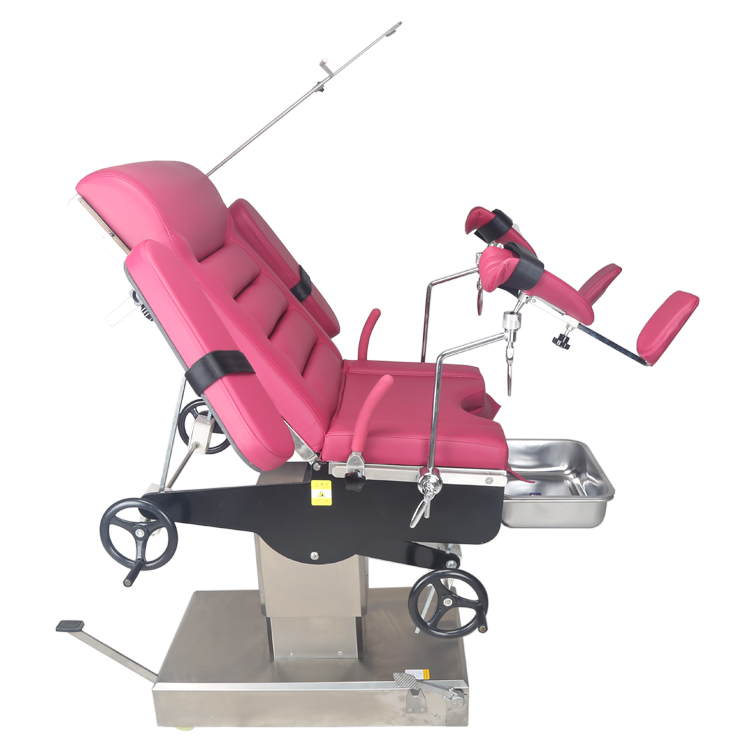 Manual Operation Gynecology Exam  Table