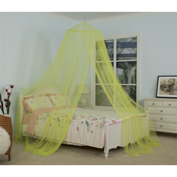 Household Yellow Hanging Bed Netting