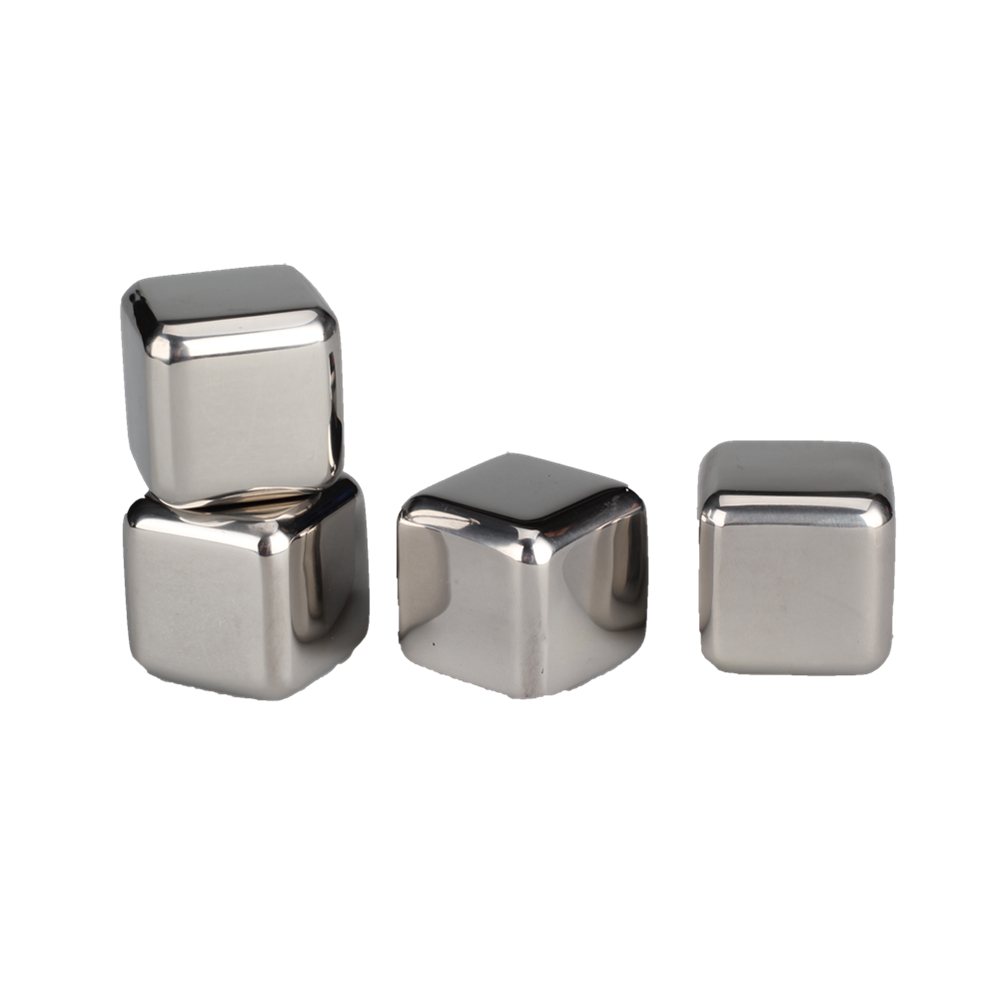 Food Grade Stainless Steel Whiskey Stone