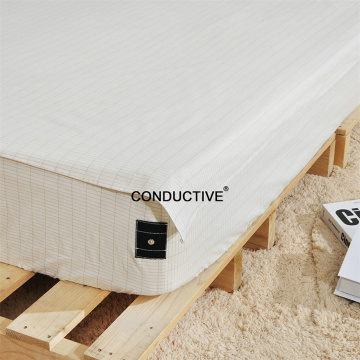 Conductive Grounding  Silver Cotton Earthing Pillowcase
