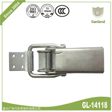 Metal Draw Lockable Toggle Clamp Hasp Latch