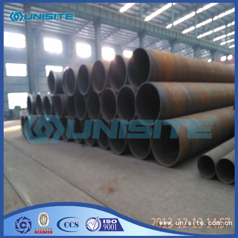 Seamless piling pipes steel