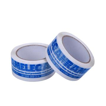 Blue Bopp Printed Colorful Tape For Carton Packing