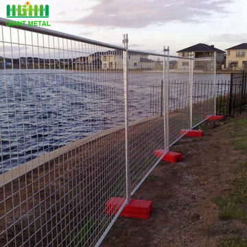 Temporary event fence temporary construction fence