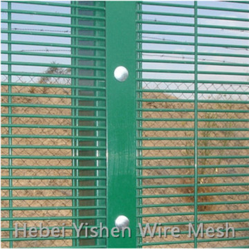 Welded Wire Mesh 358 Anti Climb Security Fence