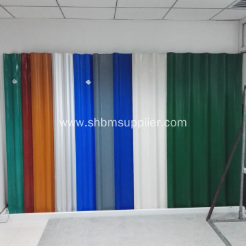 Non-asbestos Glazed Magnesium Oxide Roofing Sheet