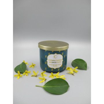 Extended Burn Time Color Jar Scented Candles