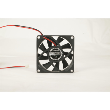 12/24V 70x70x15mm Sleeve Bearing DC Cooling Fan