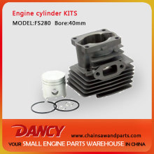 Stihl FS280 cylinder and piston kits
