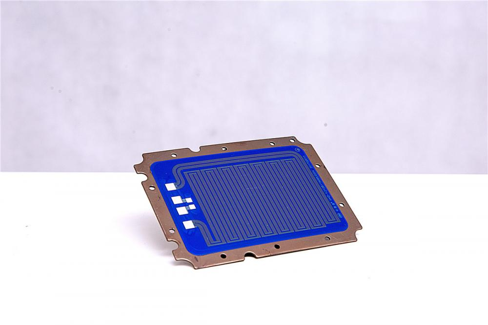 High temperature thick film heating plate