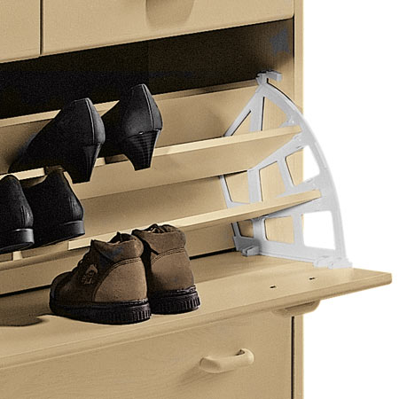 shoe rack fittings