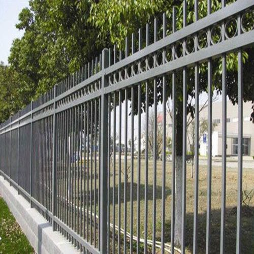 2016 ISO/BV/SGS high quality& cheap zinc steel fence