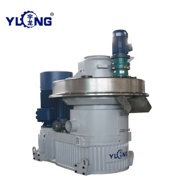 YULONG XGJ560 Wheat straw pellet machine