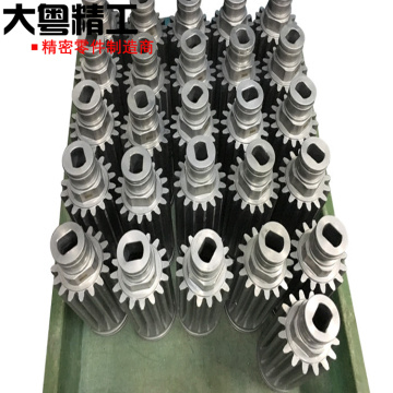 Customized gear shaft and precision grinding gear service