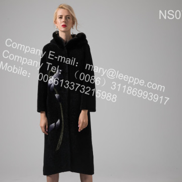 Women Australia Merino Shearling Coat