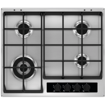 4 Burner Stove Top AEG Stainless Steel