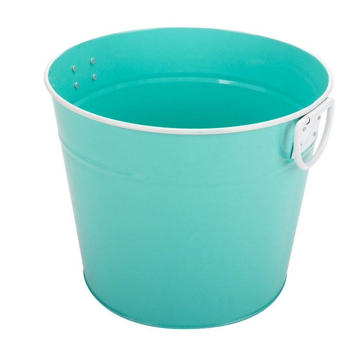 Outdoor metal drink bucket