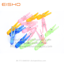 EISHO Colored Mini Plastic Clothespins For Laundry